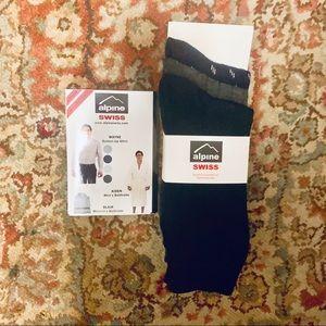 NWT 3 Pair Alpine Men's Socks